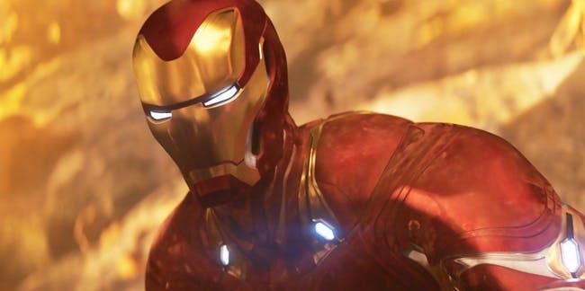 Marvel Avengers Infinity War Chrome Iron Man Pop Vinyl