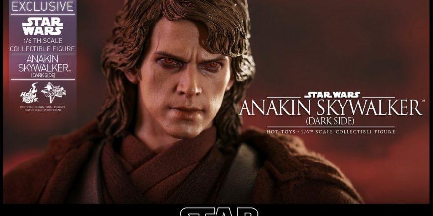 Star Wars Episode Iii Revenge Of The Sith Anakin Skywalker Dark Side Collectible Figure Coming Soon Diskingdom Com Disney Marvel Star Wars Merchandise News