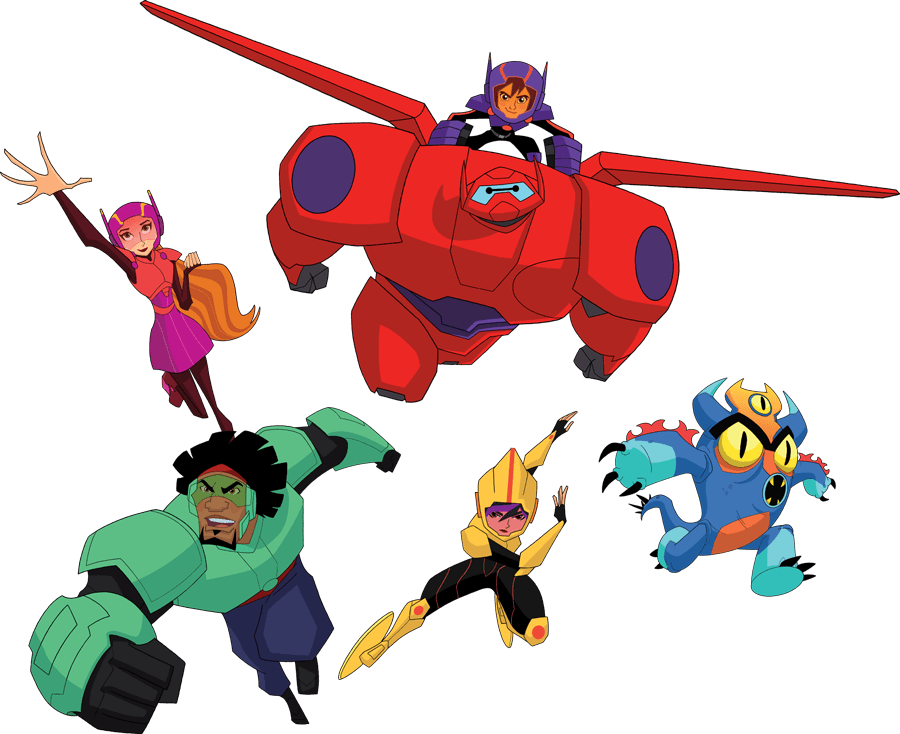 Disney S Big Hero 6 The Series Toys Out Now Diskingdom Com Disney Marvel Star Wars Merchandise News