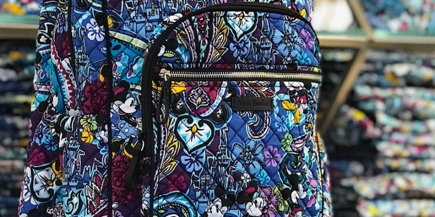 c5d5b7b632 Mickey s Paisley Celebration Collection Released At The Vera Bradley Store  In Disney Springs