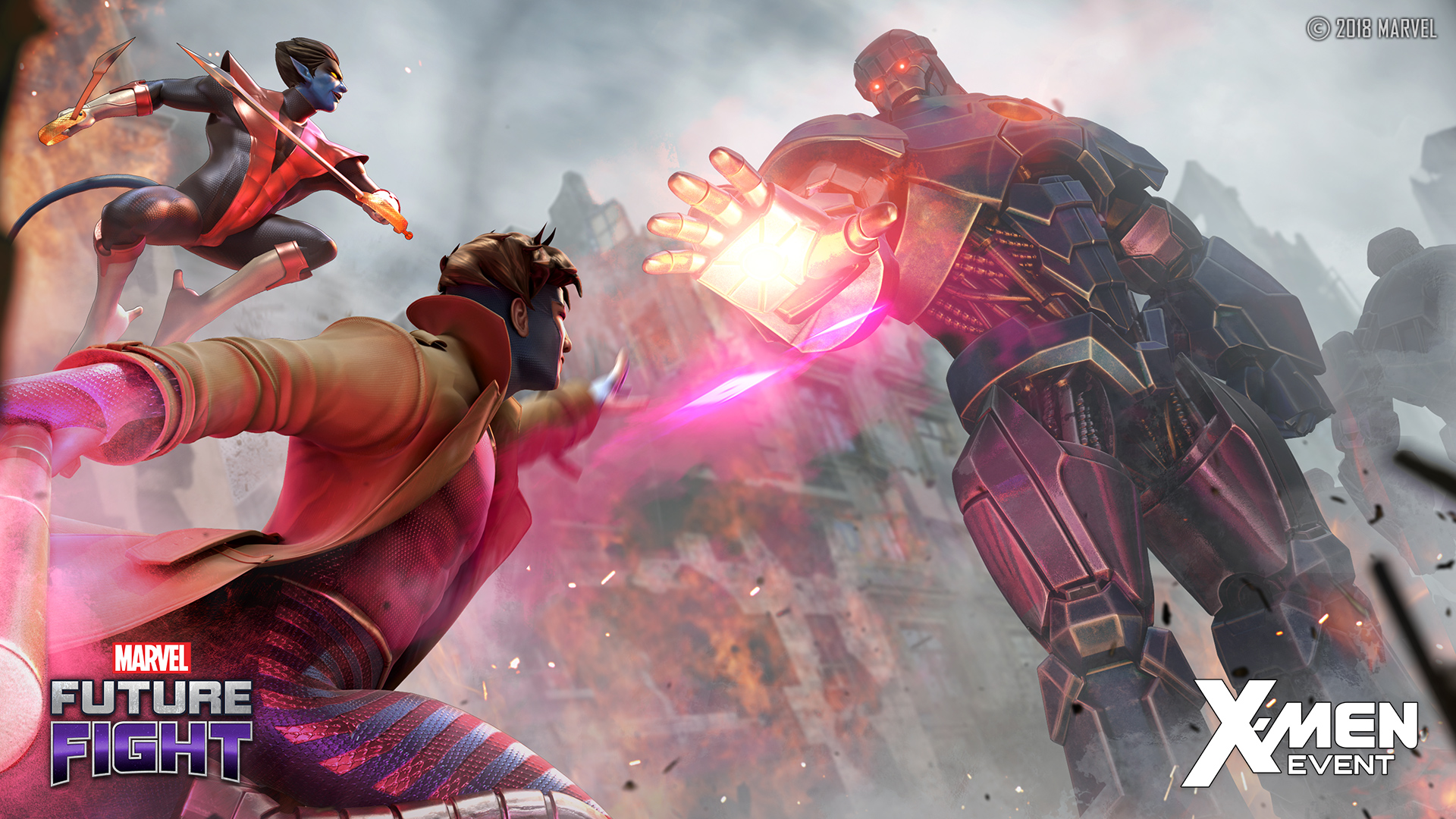 All New X Men Themed Update Arrives In Marvel Future Fight