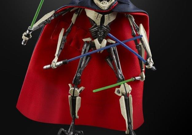 Star Wars The Black Series General Grievous 6-Inch Figure Presale