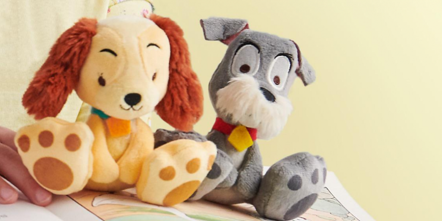 Lady and the Tramp Tiny Big Feet Plush Collection Out Now