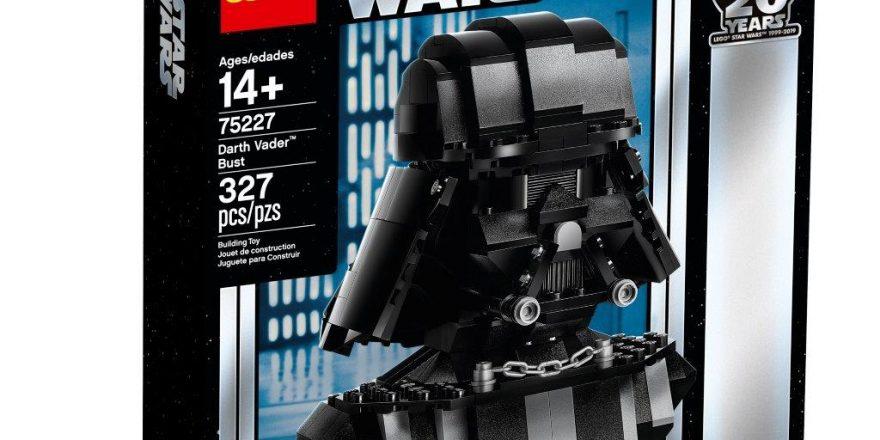 2019 Star Wars Celebration in Chicago LEGO 75227 Darth Vader Bust
