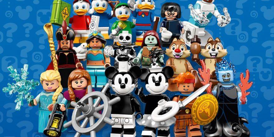 LEGO Disney Minifigures Series 2 Out Now | | DisKingdom com